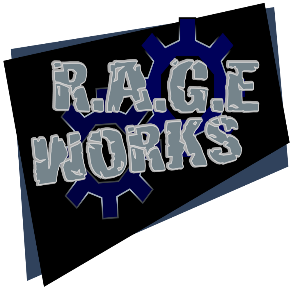 RAGE Works Network-All Shows show art