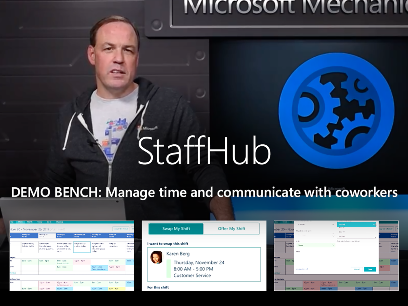 Artwork for Introducing Microsoft StaffHub for deskless workers