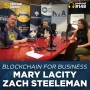 Artwork for 148: Blockchain for Business with Mary Lacity and Zach Steelman