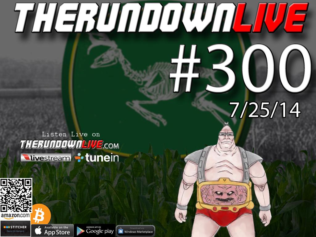 The Rundown Live #300 Open Lines (Border Patrol, Car Wash, Terrorists)