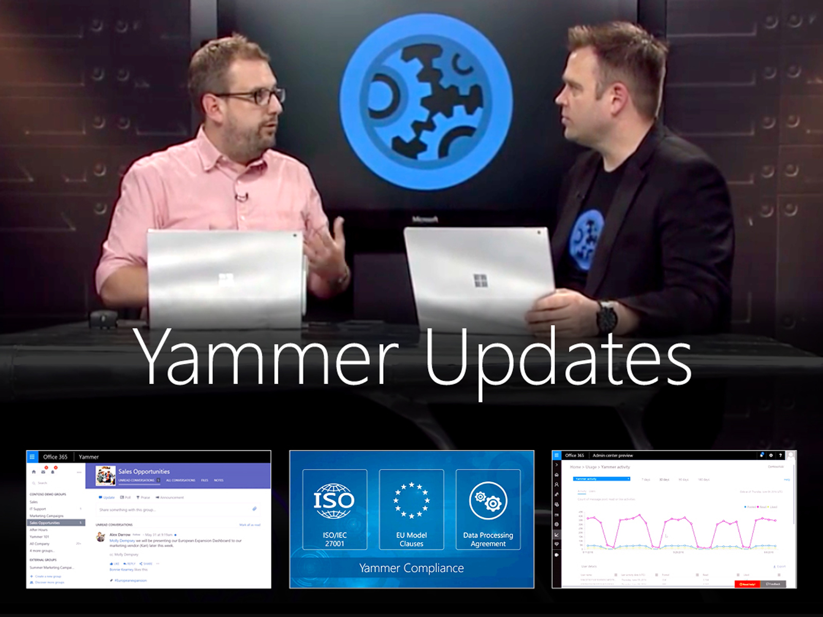 Artwork for Yammer updates – From new user experiences to new IT controls