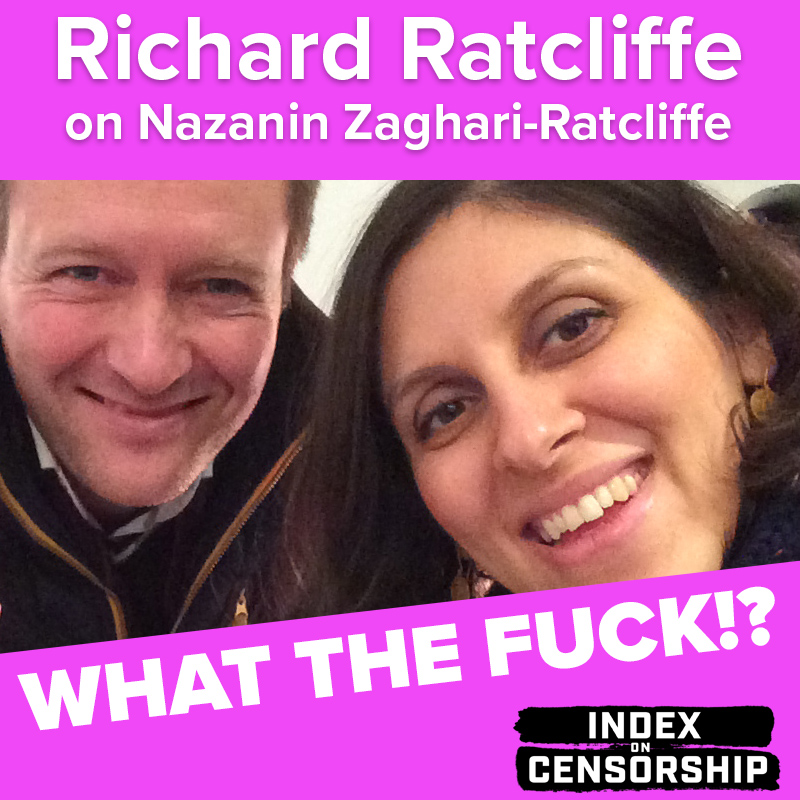 What the Fuck!? Richard Ratcliffe talks about the charges facing his wife Nazanin Zaghari-Ratcliffe