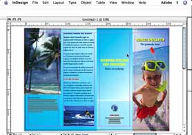 Shape shifting in InDesign CS2
