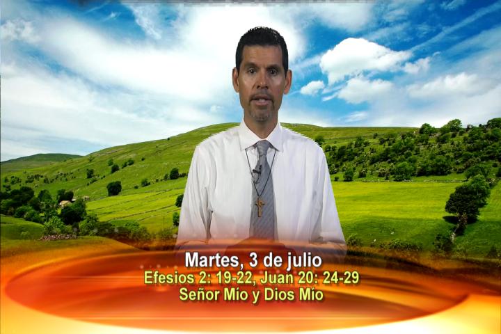 """Artwork for Dios te Habla con Jose Luis Elias; Tema el hoy: """"Señor Mío y Dios Mío"""""""