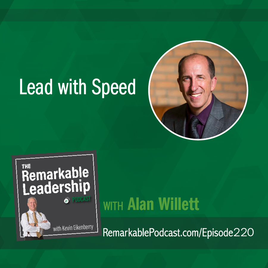 Lead with Speed with Alan Willett show art