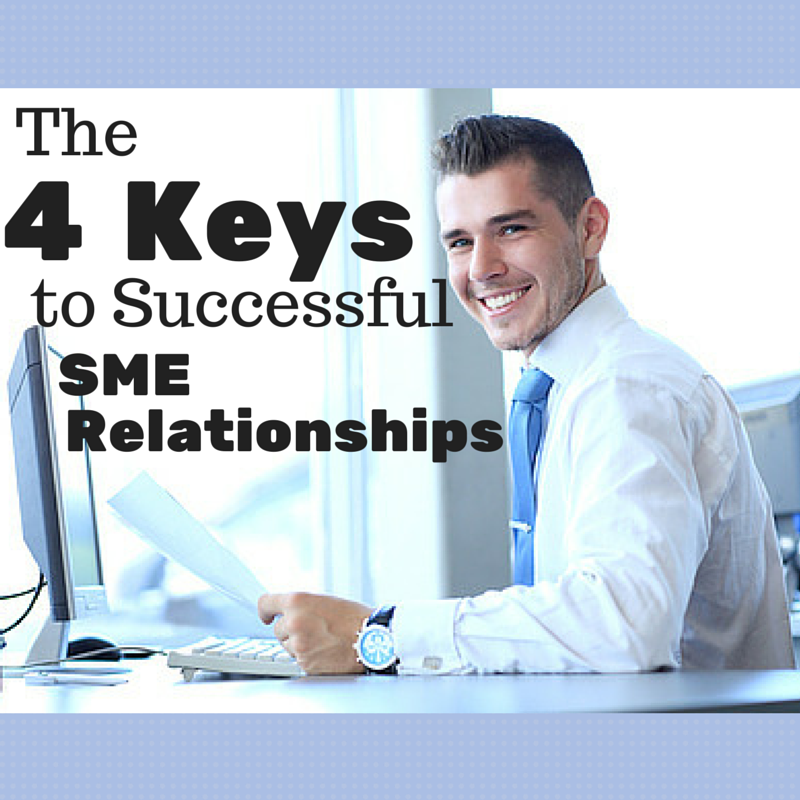 Content Marketing Podcast 124: The 4 Keys to Strong SME Relationships