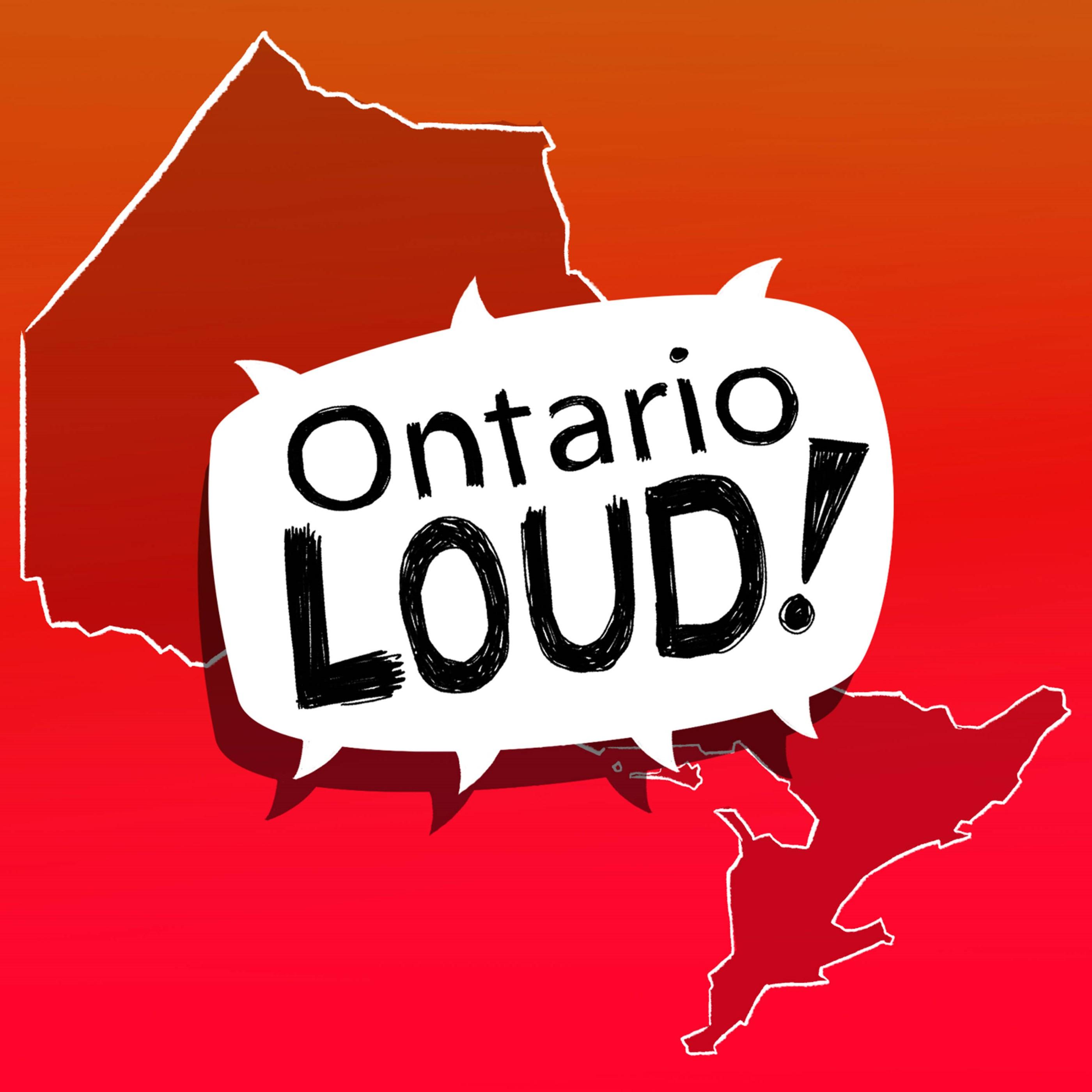 Ontario Loud show art