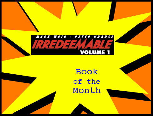 Cammy's Comic Corner - Book Of The Month - Irredeemable Vol. 1