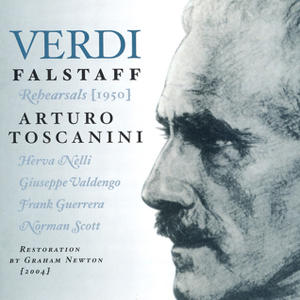 Arturo Toscanini in Falstaff Rehearsals