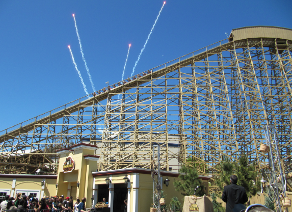 tspp #235- Media Event: Gold Striker at California's Great America 6/12/13