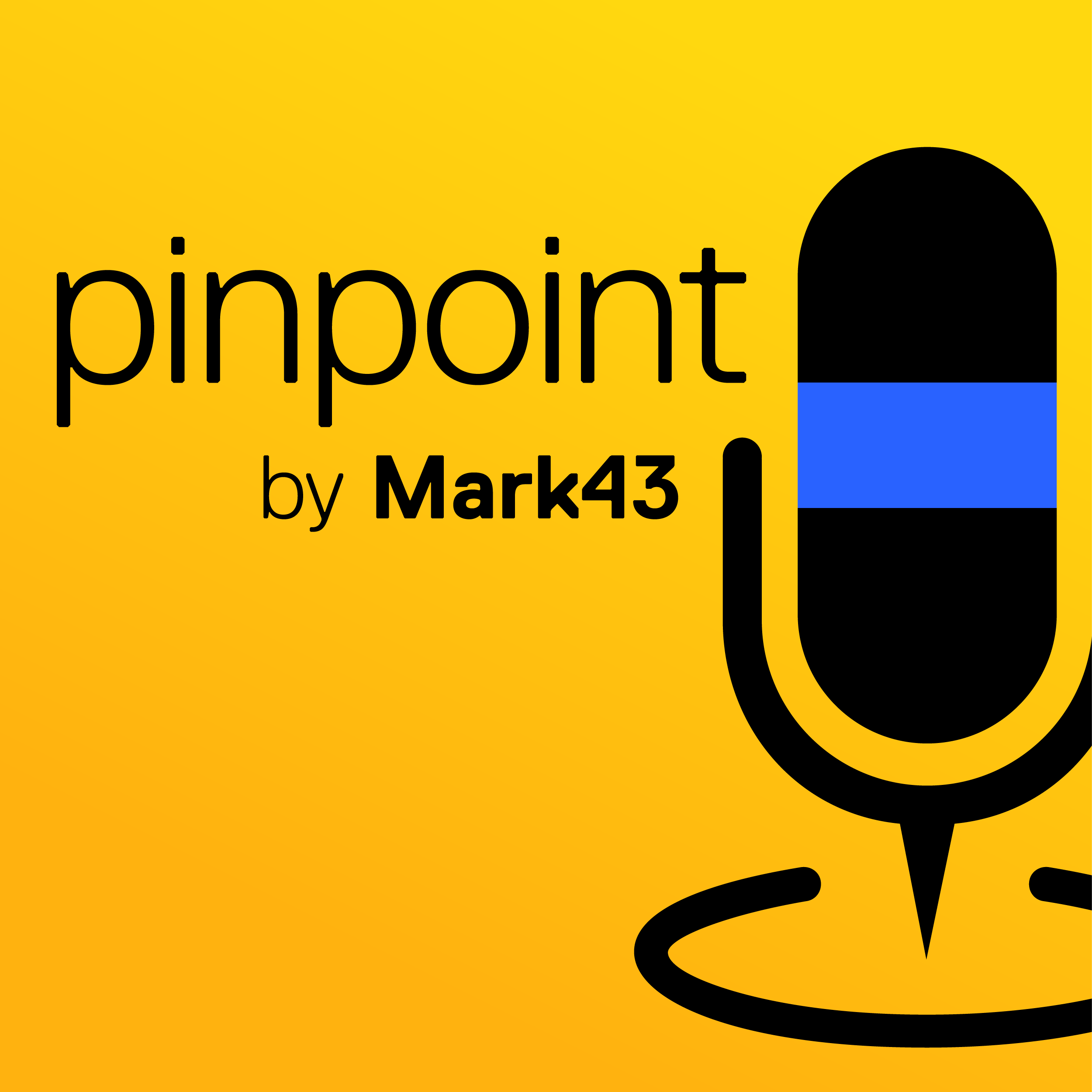Pinpoint by Mark43 show art