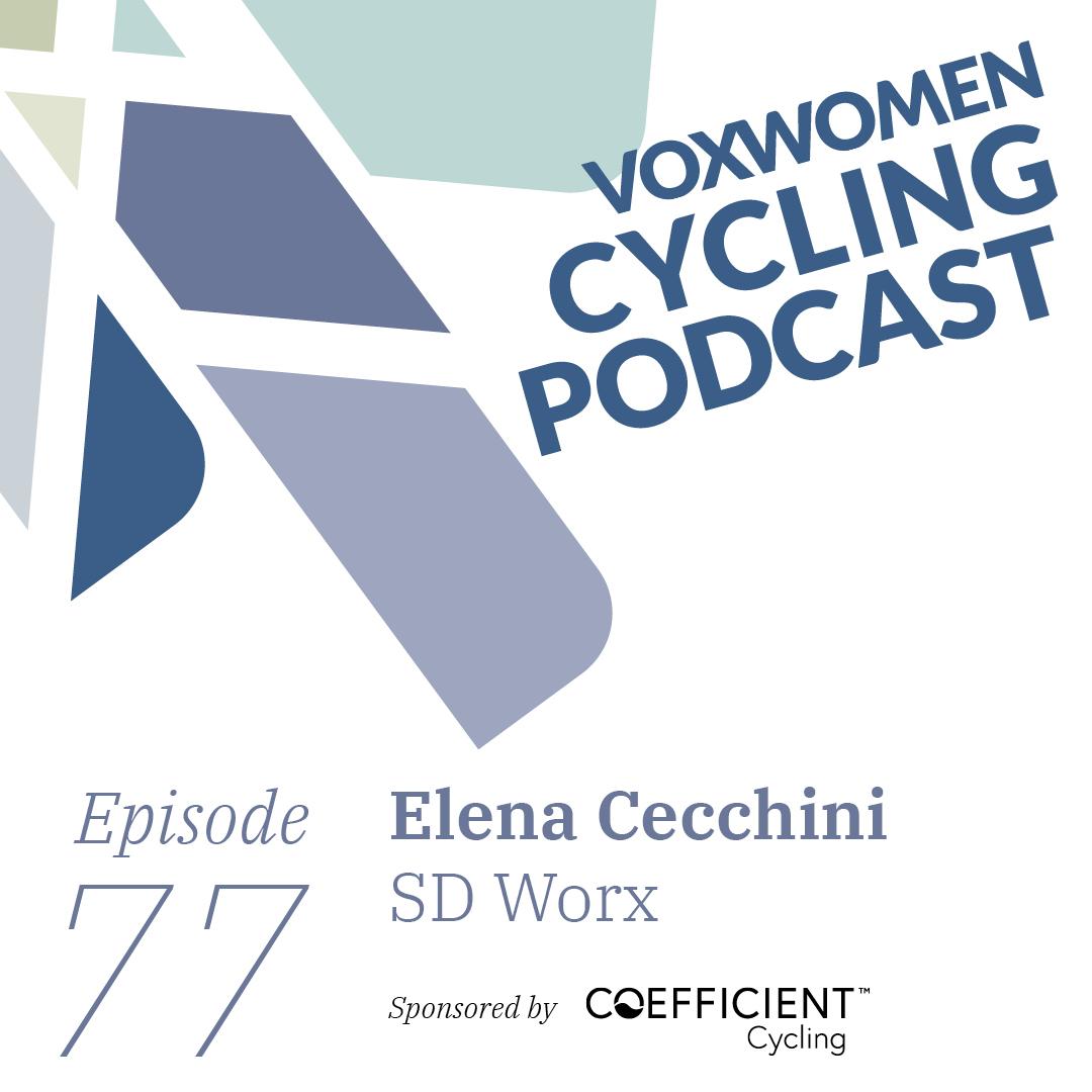 Artwork for Voxwomen Cycling Podcast: Elena Cecchini