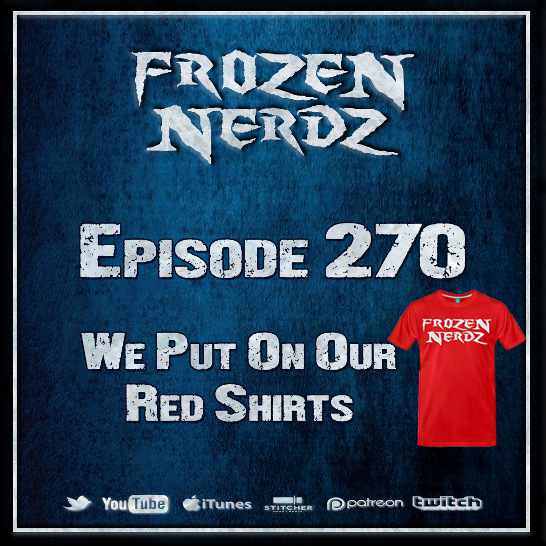Episode 270 - We Put On Our Red Shirts show art