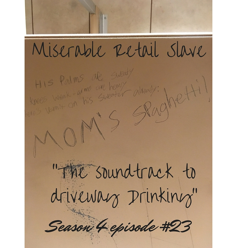 S04E23. The Soundtrack to Driveway Drinking