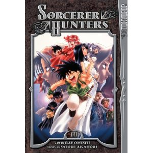 Manga Review: Sorcerer Hunters Volume 10