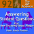 Are We Answering Student Questions? | Science Updates | TAPP 92 show art